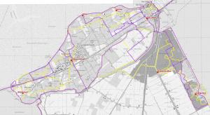 NWfragment GIS-kaart Kop incl. Waddenwandelen